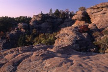 Graden of the Gods, Illinois scenic, Shawnee National Forest, camel rock,