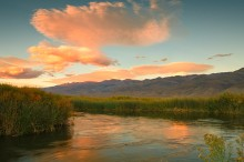 Owens River, Owens Valley, Eastern Sierra, California, Sunset,Jeremy Brasher, Jeremy Brasher Photography