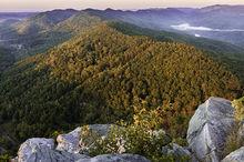 Pinnacle Overlook, Cumberland Gap, Wilderness Road , Daniel Boone