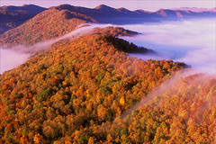 Cumberland gap, kentucky, autumn, pinnacle overlook