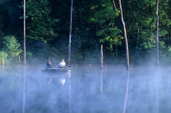 Duncan Lake, fog, mist, LBL, Land Between the Lakes, jeremybrasher.com, Jeremy Brasher