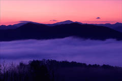 Dawn at Foothills Parkway