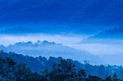 Blue Ridges of Light