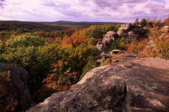 Early Autumn and Camel Rock