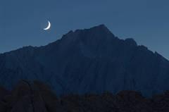 Moonset Over Lone Pine Peak