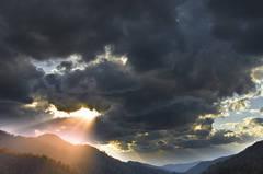 Storm Light Over Morton Overlook