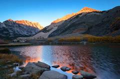North Lake At Daybreak