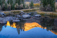 Reflections Below North Lake