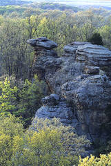 Camel Rock, Shawnee National Forest, Garden of the Gods, Southern Illinois, jeremybrasher.com, Jeremy Brasher, spring sc