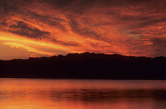 Sunrise Over Honker Lake