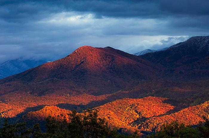 fall foilage, Great Smoky Mountains, Gatlinburg, autumn, , photo