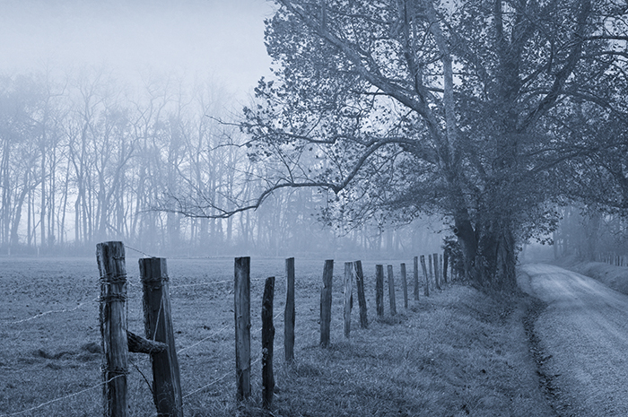 Cades Cove, Sparks Lane, Smokies hertiage, fence, Great Smoky Mountains,  , photo