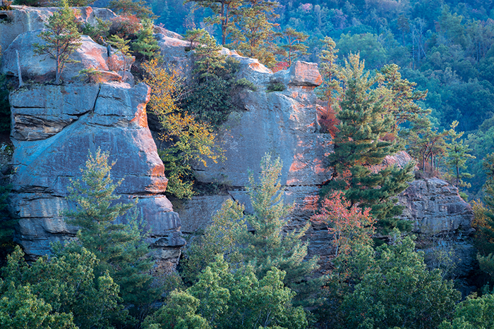 RedRiverGorge, Chimney Tops, Chimney Rock, Daniel Boone National Forest, photo