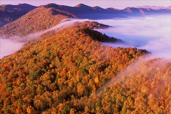 Cumberland gap, kentucky, autumn, pinnacle overlook, photo