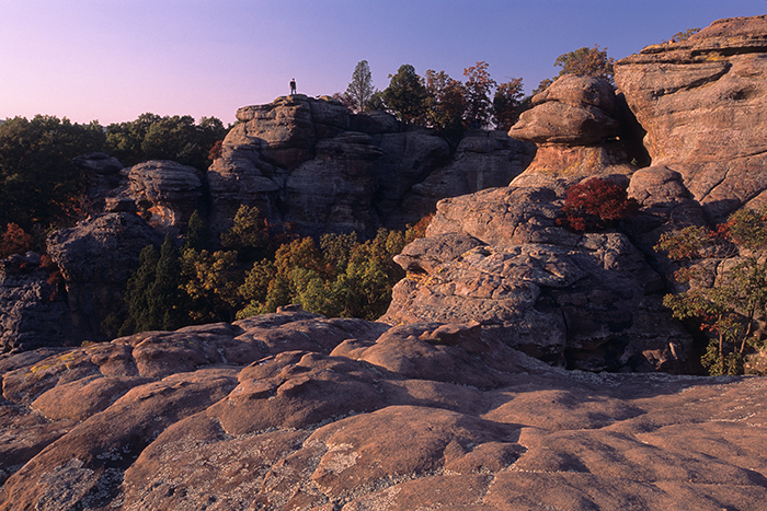 Graden of the Gods, Illinois scenic, Shawnee National Forest, camel rock, , photo